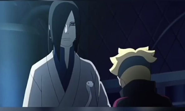 Naruto' Lastly Trench Out Boruto Against Orochimaru