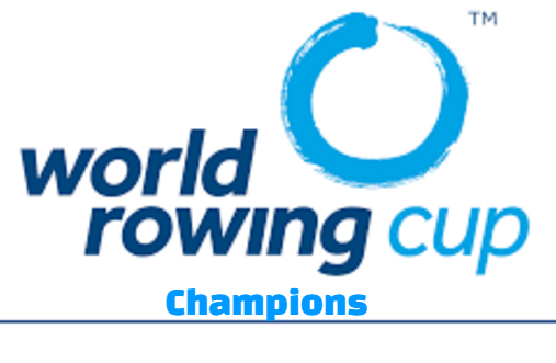Rowing World Cup, all-time, overall, Winners-Champions , list.