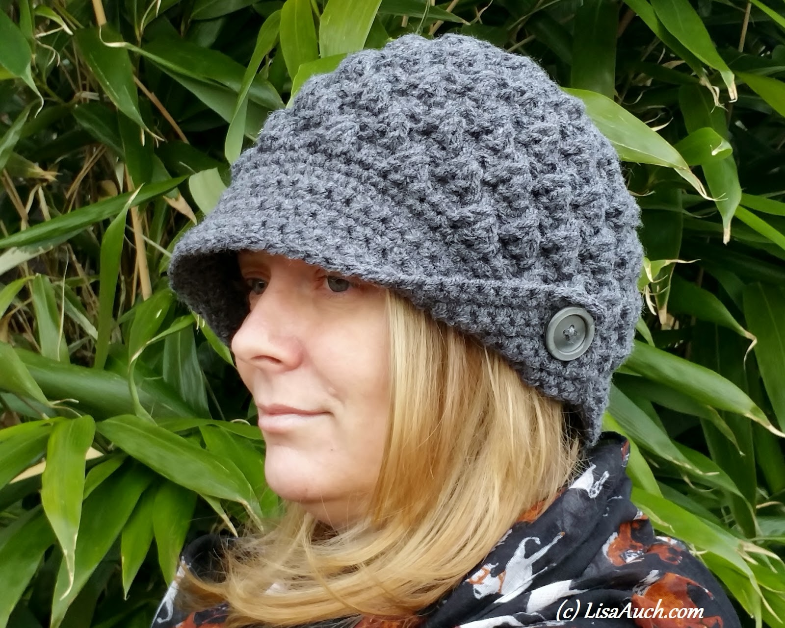 Free crochet pattern womans hat