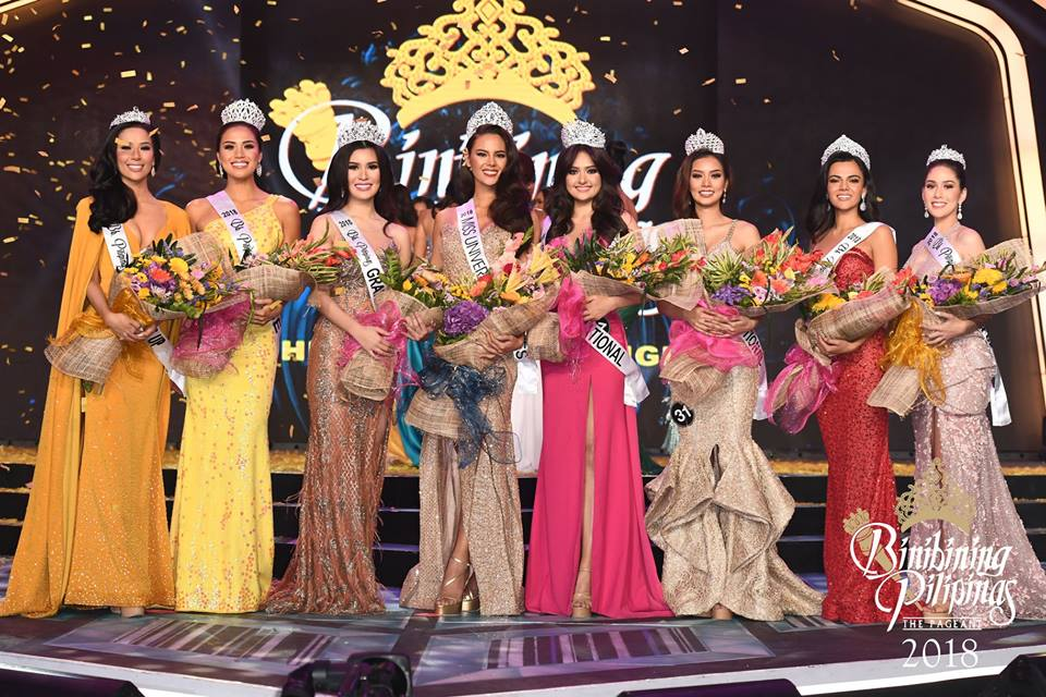 Congratulations to our new queens | Photo Courtesy: Facebook/Bb Pilipinas