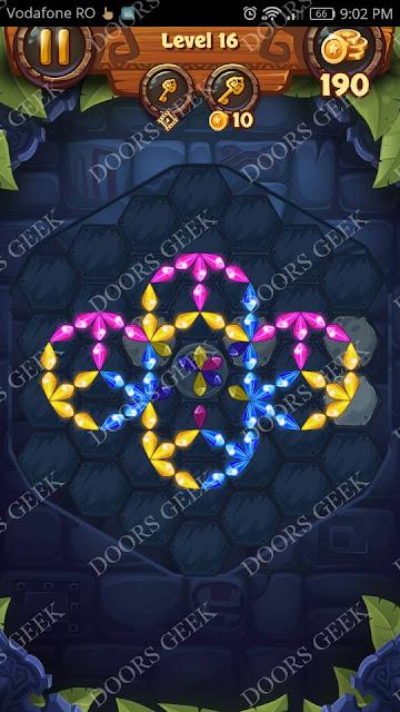 Gems & Magic [Emerald] Level 16 Solution, Walkthrough, Cheats
