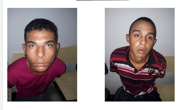 POLICIAIS MILITARES DE SÃO JOÃO DO RIO DO PEIXE RECUPERAM MOTOCICLETA ROUBADA E PRENDE DOIS SUSPEITOS