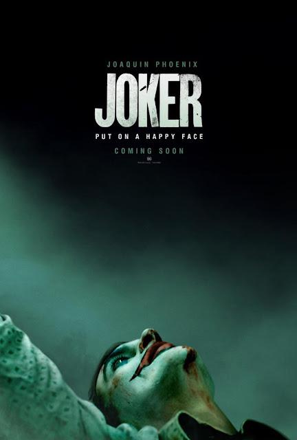 """Primer póster de la película """"Joker"""" de DC Comics."""