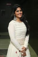 Megha Akash in beautiful White Anarkali Dress at Pre release function of Movie LIE ~ Celebrities Galleries 026.JPG