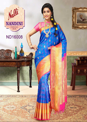 Nalli Latest Silk Nandini Sarees