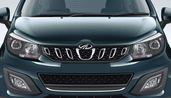 New Mahindra Marazzo close up image