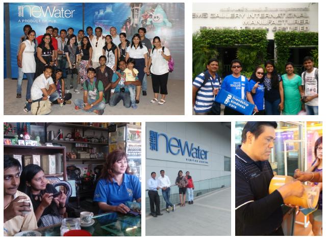 international visit in singapore