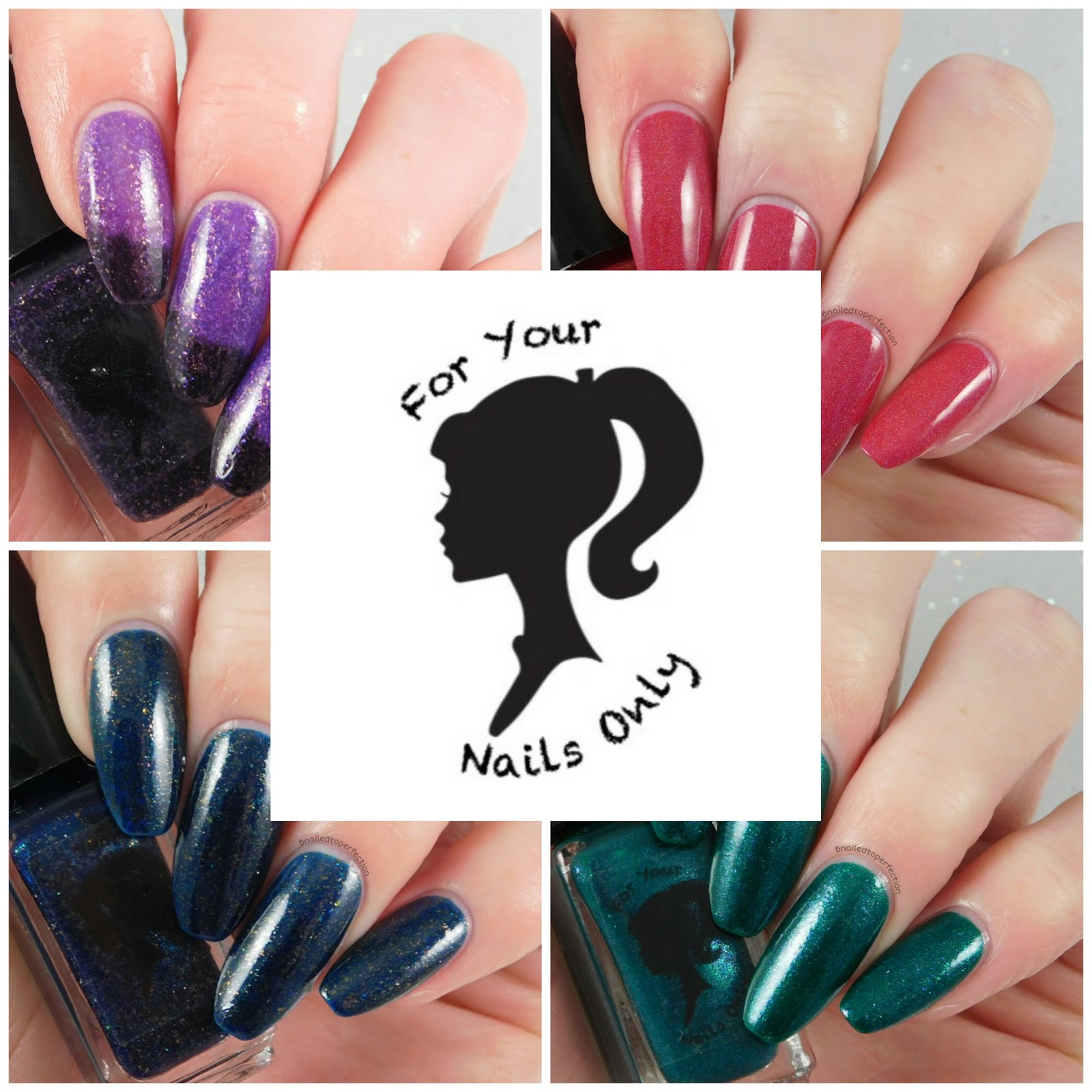 B Nailed To Perfection: For Your Nails Only - Cupid Collection ...