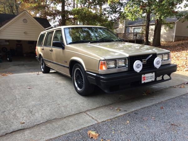 Nice Classic Wagon, 1988 Volvo 740GLE Turbo | Auto Restorationice