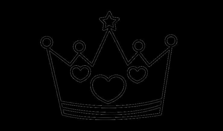 Gambar Mewarnai Mahkota Raja Aneka Mewarnai