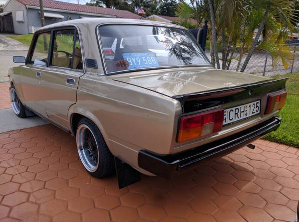 1983 Lada 2105 For Sale In The Usa Keep Cars Weird Wednesday