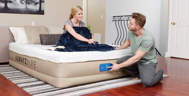 How to prepare for house guests on short notice, easy ideas to get ready for house guests, must haves for house guests, how to host people at your home, bestway airbed, saluspa giveaway 2017, automatically inflating air bed, air mattress that stays inflated, air mattress that monitors air pressure
