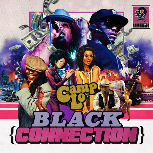 Camp Lo - Black Connection - EP Cover
