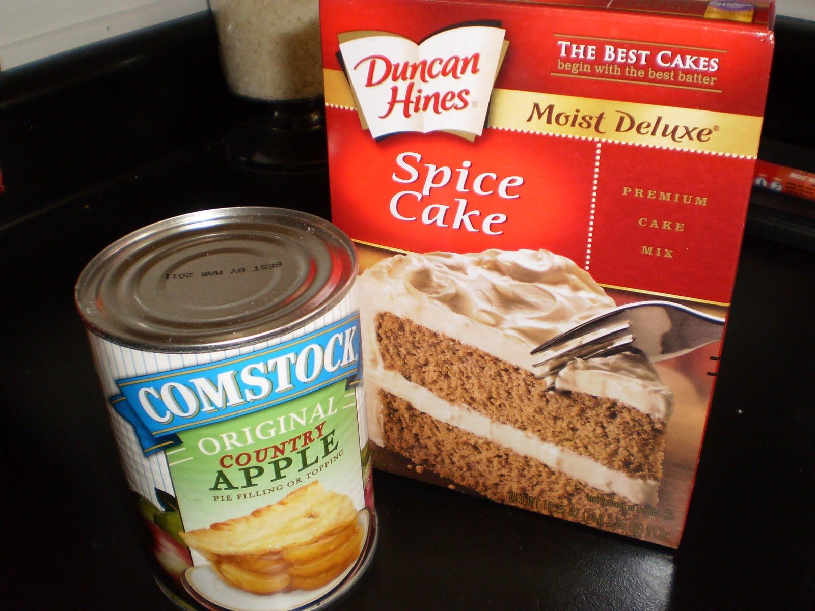 Apple Spice Cake Recipe Using Spice Cake Mix