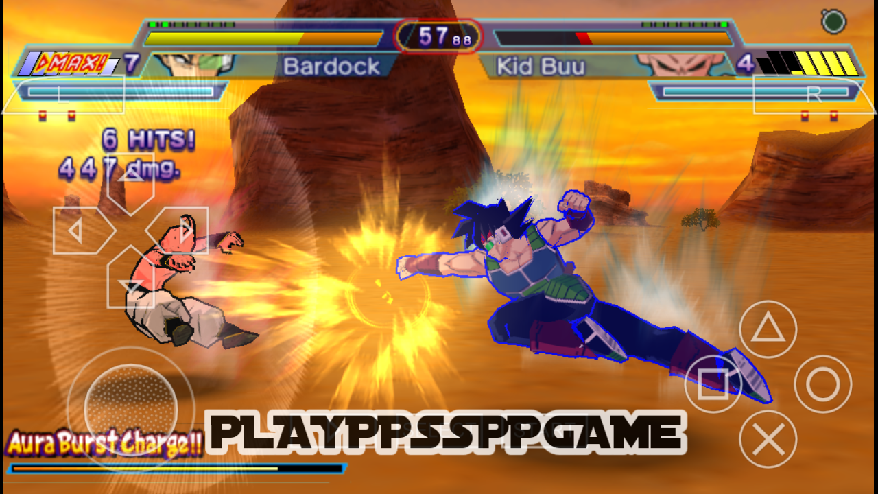 Dragon Ball Z Shin Budokai 2 PSP ISO PPSSPP For Android/IOS
