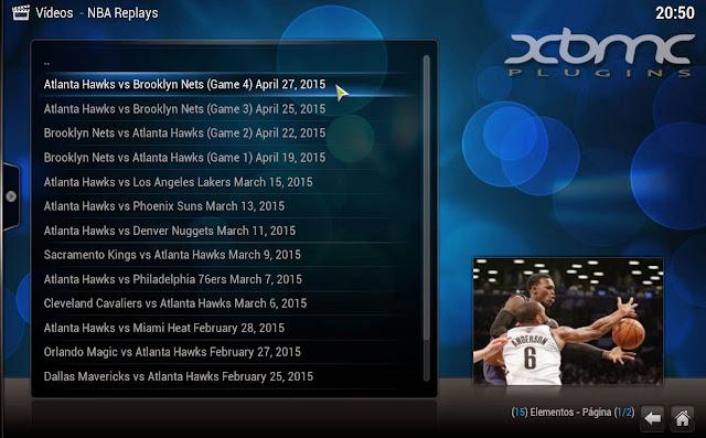NBA REPLAYS KODI
