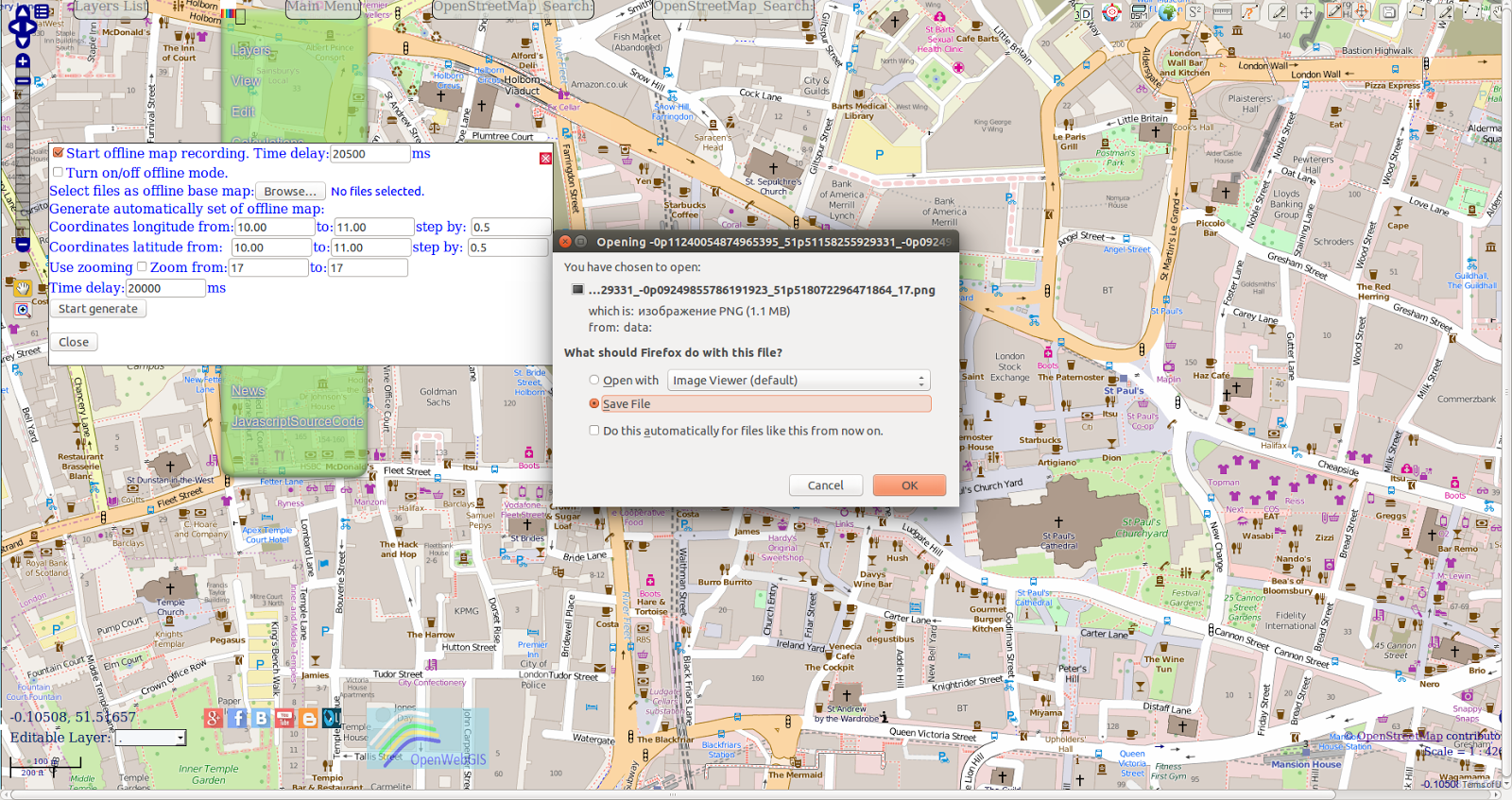 Openwebgis Is Free Online Gis One Of The Methods To