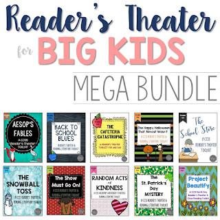 Reader's Theater BIG KIDS Mega Bundle
