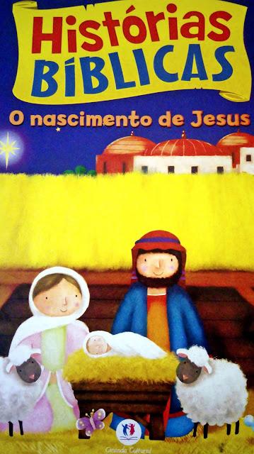 Achegue-se! Dicas para presentear - Histórias bíblicas - O nascimento de Jesus