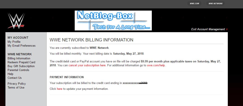 WWE Premium Account 2017 Access Full & Lifetime (4+)