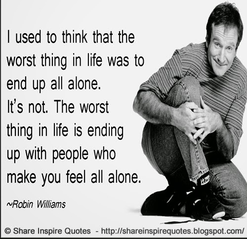 Funny Life Quotes That Make You Think: I Used To Think That The Worst Thing In Life Was To End Up