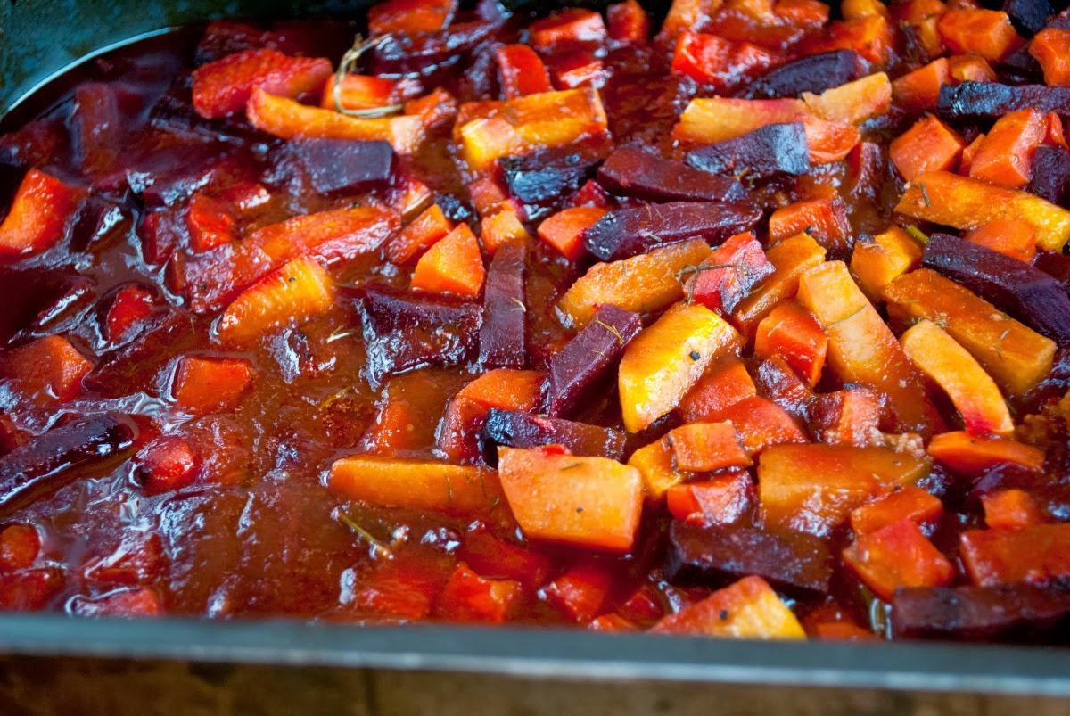 Roasted Vegetables In Smoky Barbecue Sauce Vegansandra