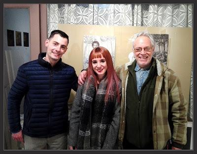 EXPOSICIÓ-IRIS LOPEZ-ART-ARTISTES-PINTORS-ERNEST DESCALS-GERARD MARTIN-LLIBRERIA-PAPASSEIT-MANRESA-