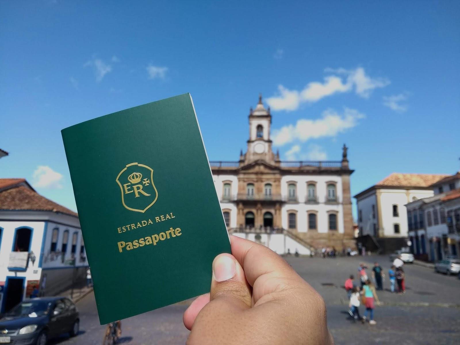 Como solicitar o passaporte estrada real