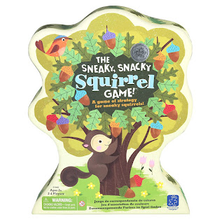 Use the Sneaky, Snacky, Squirrel game to improve pencil grasp, making it the perfect fine motor game for occupational therapy activities.