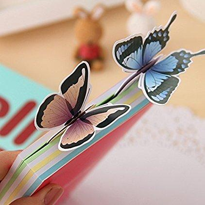 Fresh Butterfly Bookmarks