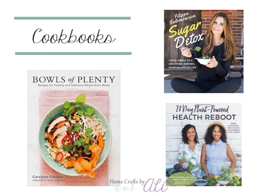 new cookbooks with healthy recipes