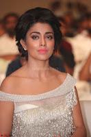 Shriya Saran in Stunning White Off Shoulder Gown at Nakshatram music launch ~  Exclusive (110).JPG