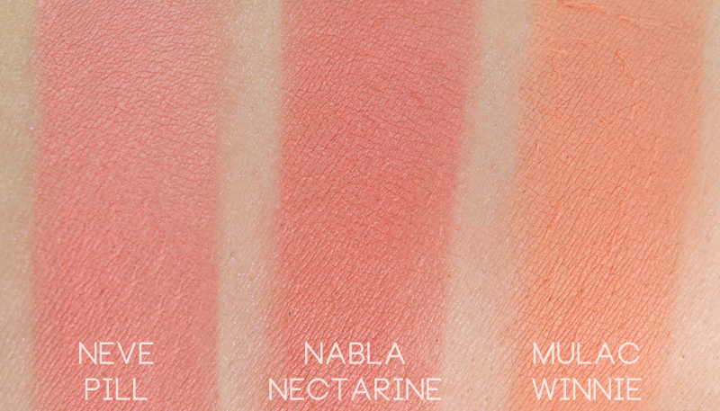 Neve Cosmetics Mutations Pill swatch