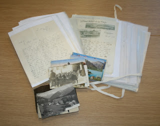 Letters and photographs belonging to the Leybourne family
