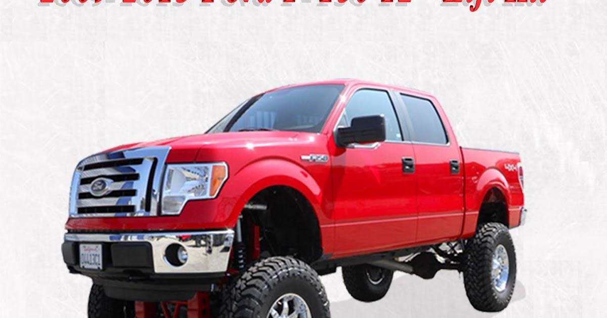 Bulletproof Lift Kit >> BulletProof Suspension Inc.: Bulletproof Suspension lift kit 2009-2013 Ford F-150 12''