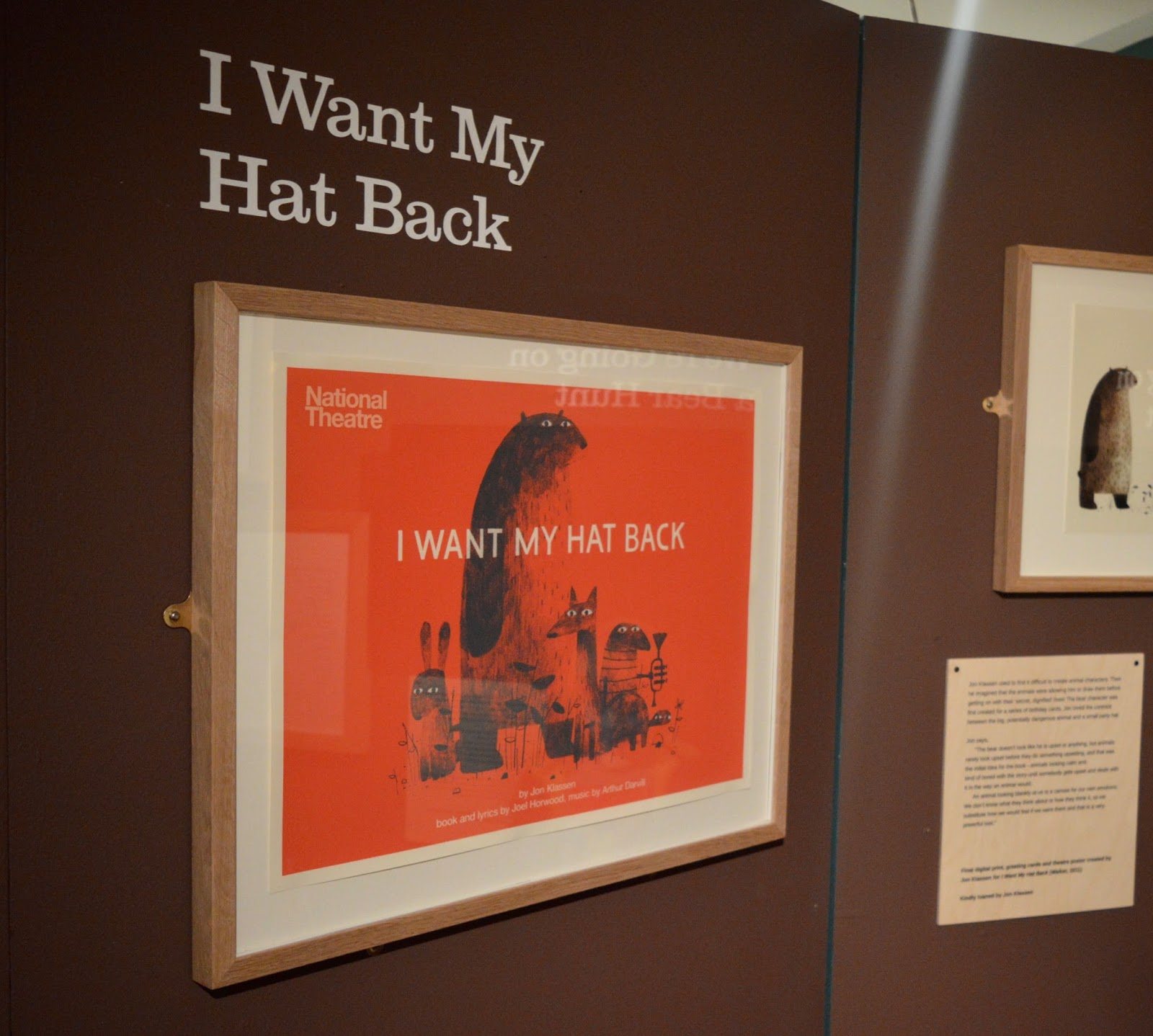 Seven Stories Newcastle | Parking & Admission plus Bears! Exhibition Review - I want my hat back poster