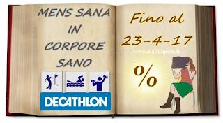 Logo Mallku-Perù : ''Mens sana in corpore sano '' ti regala Card Decathlon