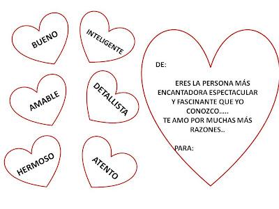 Imagenes Y Dibujos Para Colorear Dibujo De Frases Y Carta De Amor