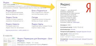 Сведения об организации в Google