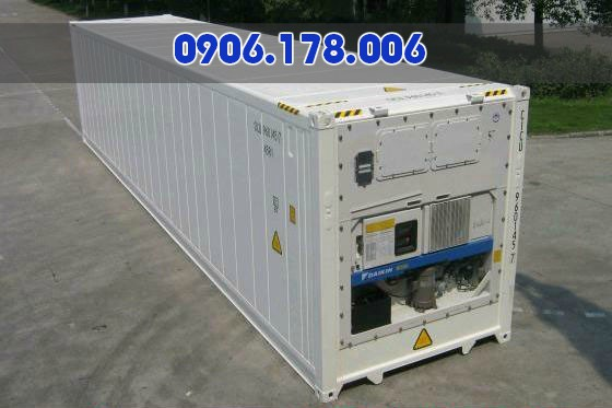 Bán container lạnh 40 feet giá rẻ