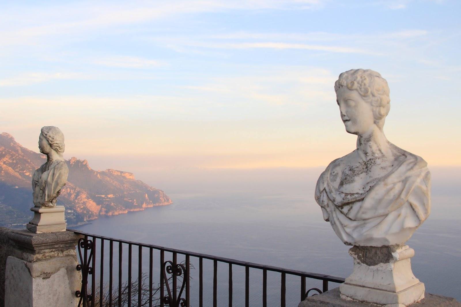 The travel gazette soggiorno romantico in costiera for Soggiorno costiera amalfitana