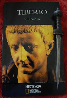 Portada del libro Tiberio, de Suetonio