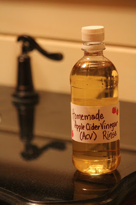 IMG 5557 - Homemade Conditioner (Apple Cider Vinegar Rinse)