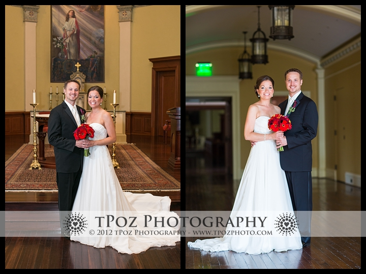 Wedding Portraits Marikle Chapel Notre Dame