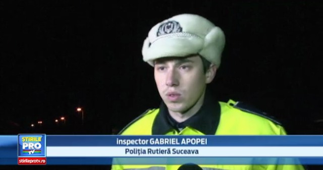 Cine este Gabriel Apopei, cel mai tânăr șef de Poliție Rutieră din țară