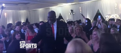 Shaquille O'Neal Dances at a Jewish Wedding in Miami