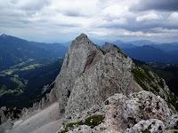Klettersteig Lärchenturm : Klettersteig lärchenturm in der koschuta alpenverein