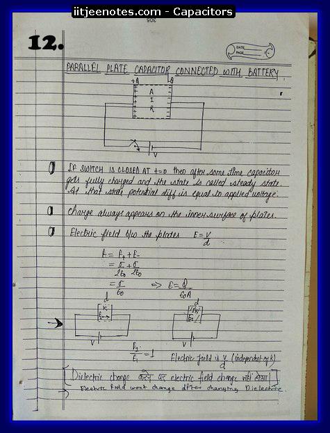 capacitors notes2