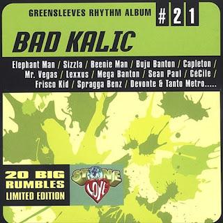 Achis' Reggae Blog: Discography: Greensleeves Rhythm Album
