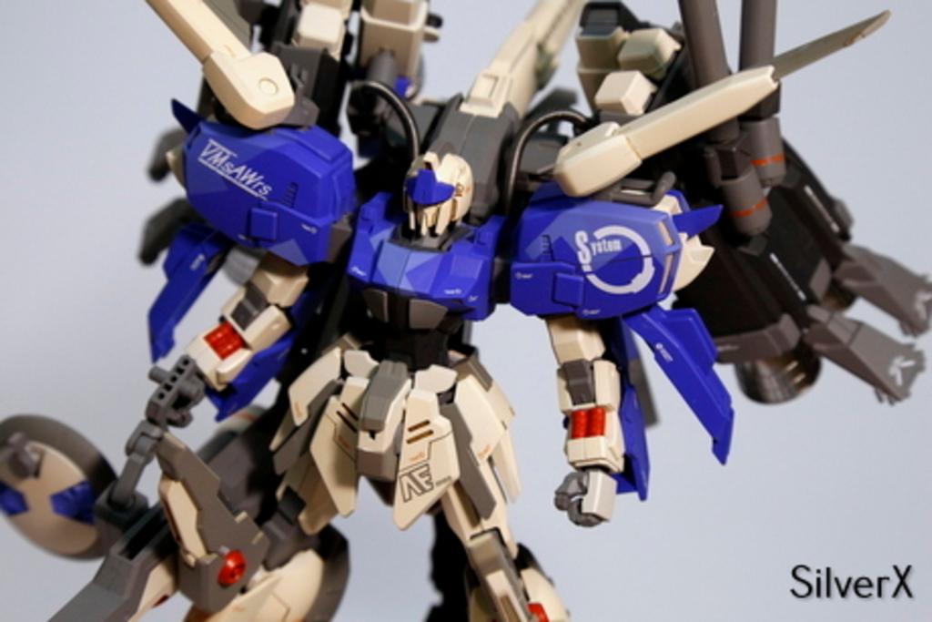 Custom Build: HG 1/144 Ex-Shiki Gundam